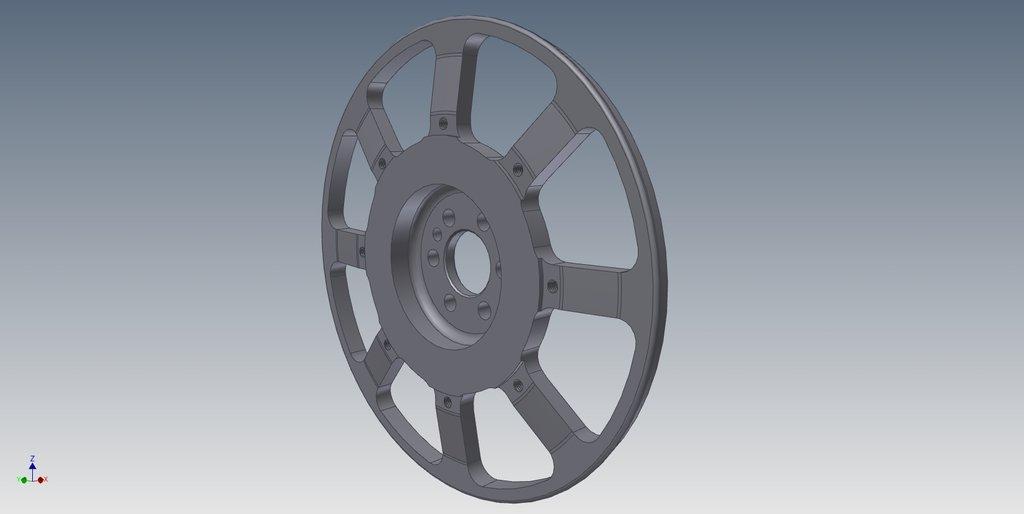 маховое колесо обучение